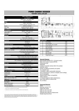 3232CD Teknik özellikleri