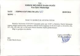 eylül - Edirne Belediyesi