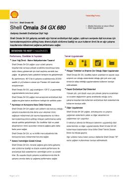 Shell Omala S4 GX 680