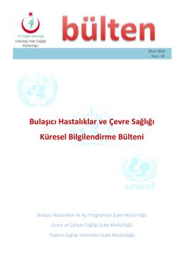 2014 Mart Sayısı İçin Tıklayınız - Tekirdağ Halk Sağlığı Müdürlüğü