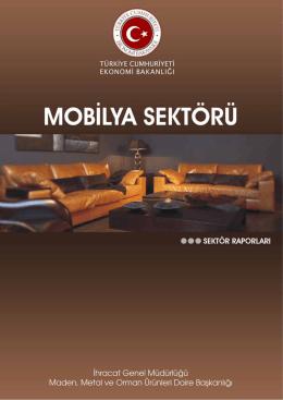 Mobilya Sektörü - Kütahya Ticaret ve Sanayi Odası