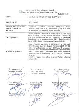 Gündemin 45.Maddesi - Antalya Belediyesi