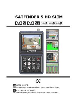 satfınder 5 hd slım - Satfinder 5 HD SLIM