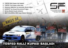 Sayı 9 - Türkiye Otomobil Sporları Federasyonu