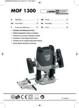 MOF 1300 - Meister Werkzeuge