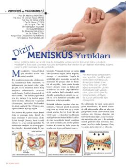 MENİSKÜS Yırtıkları - Turgut Özal Üniversitesi Hastanesi