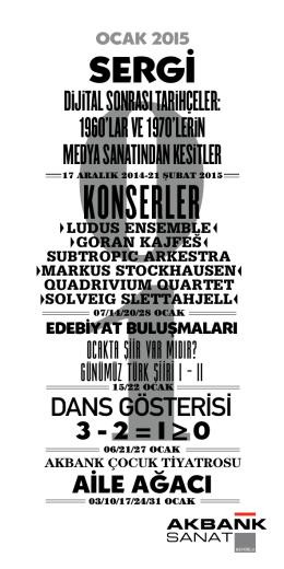KONSERLER - Akbank Sanat