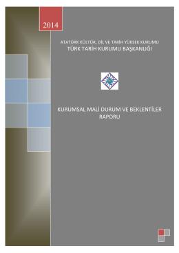 2014 Yılı Kamu Mali Beklentiler Programı