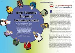 Bilgi Toplumu Stratejisi tartışmaya açıldı