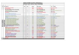 2014-2015 GÜZ FİNAL PROGRAMI