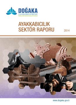 ayakkabıcılık sektör raporu