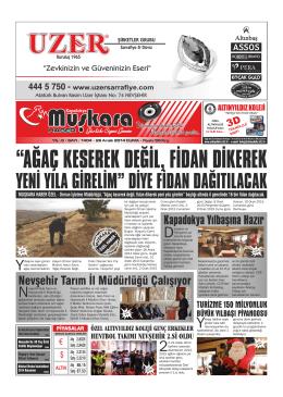 Nevşehir Muşkara Haber