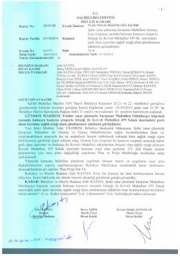 2014/136 sarıpınar mh. kamyon otoparkı bitişiği