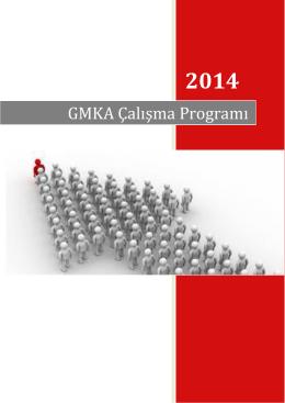 GMKA 2014 Çalışma Programı - Güney Marmara Kalkınma Ajansı