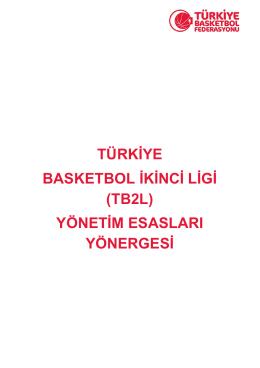 TB2L Yönergesi - Türkiye Basketbol Federasyonu