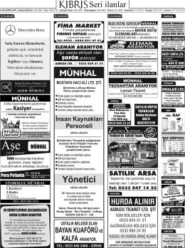 Yönetici - Kıbrıs Gazetesi
