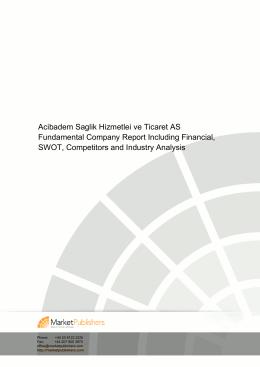 Acibadem Saglik Hizmetlei ve Ticaret AS Fundamental Company