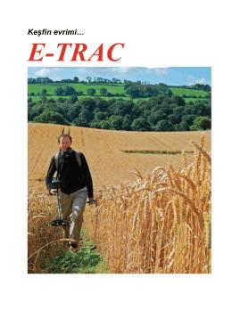 Minelab E-TRAC - Depar Detektor