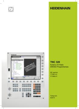 TNC 320 - Kullanıcı El Kitabı DIN/ISO Programlaması