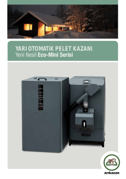 YARI OTOMATiK PELET KAZANI