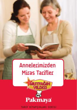 Annelerimizden Miras Tarifler