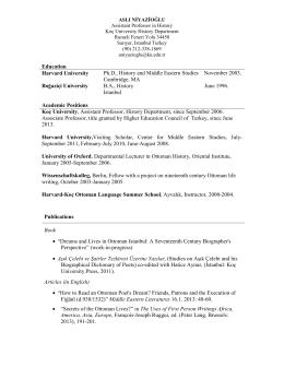 CV - CSSH Main Page