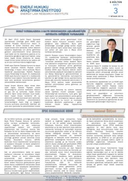 30 Mart 2013 tarihli Resmi Gazetede yayımlanarak yürürlüğe giren