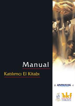 Katılımcı El Kitabı - anımalıa istanbul 2015