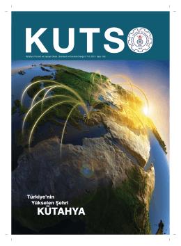 kutso dergi sayı 182 - Kütahya Ticaret ve Sanayi Odası
