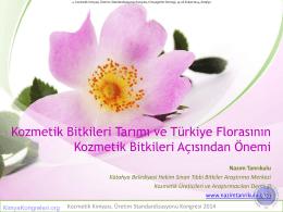 kozmetik bitkileri - KimyaKongreleri.org