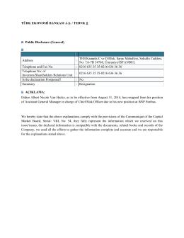 Resignation, August 29, 2014