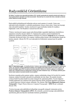 radyonüklid görüntüleme (rg) - radyolojik tanı yöntemleri ne yapabilir
