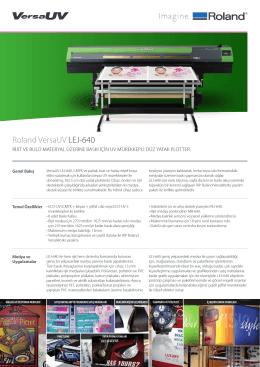LEJ-640 Broşür - OTS Dijital Baskı Çözümleri