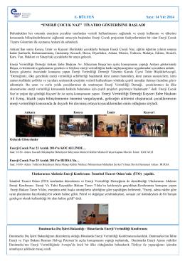 Aralık 2014 - Enerji Verimliliği Derneği
