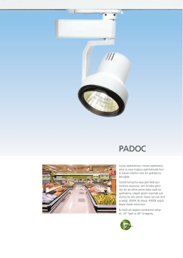 Padoc - EAE Aydınlatma