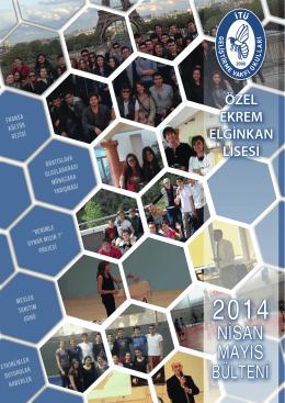 Ekrem Elginkan Lisesi Nisan - İTÜ Geliştirme Vakfı Okulları