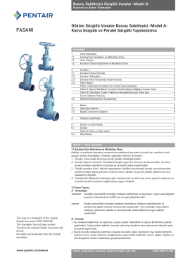 Fasani Gate Valves, Cast High Pressure Style A