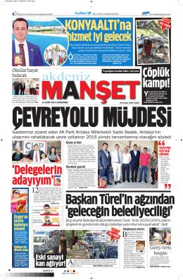 Çöplük kampı! - Akdeniz Manşet