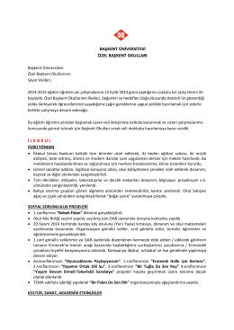 08.12.2014 tarihli veli bilgilendirme mektubu
