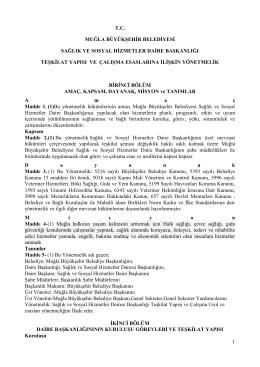 1 tc muğla büyükşehir belediyesi sağlık ve sosyal