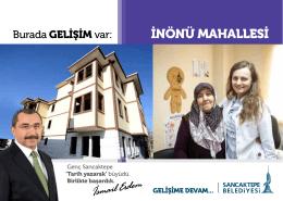 İNÖNÜ MAHALLESİ - Sancaktepe Belediyesi