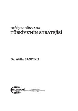 Degisen dunyada turkiyenin stratejisi rapor 01.qxd