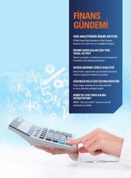 KPMG Gündem 19 Finansal Hizmetler Dosyası (PDF 1.5MB)