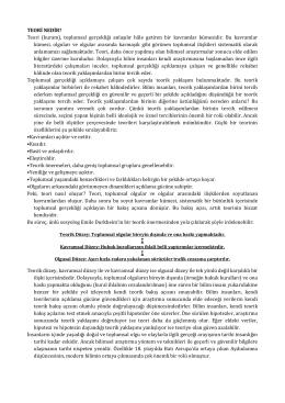 Page 1 TEORİ NEDİR? Teori (kuram), toplumsal gerçekliği anlaşılır