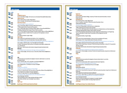 Program - Uluslararası Havacılık ve Uzay Malzemeleri Konferansı