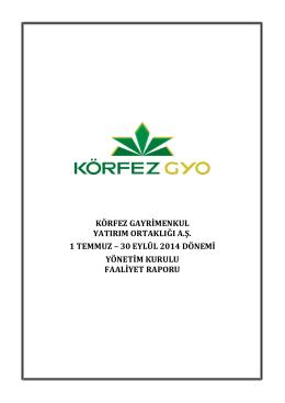 Yönetim Kurulu-Faaliyet Raporu