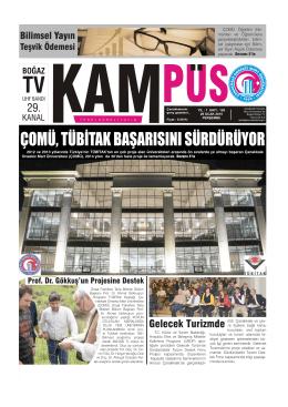 29 ocak 2015 perşembe sayfa - Çanakkale Onsekiz Mart Üniversitesi