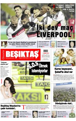 Gazete Beşiktaş / 15 Günlük