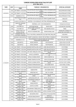 20-27 Mart 2015 Faaliyet Programı.pdf
