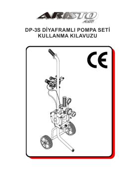 dp3 diyaframli pompa kullanma kilavuzu
